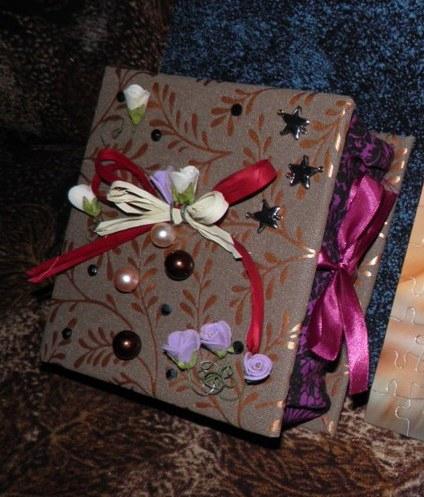 мой первый коробочек)) делала в подарок для мужа...